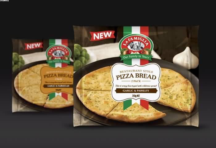 بسته بندی نان پیتزا