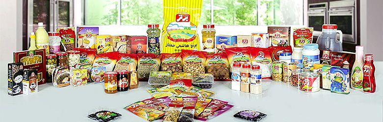 بسته بندی مواد غذایی شرکت برتر