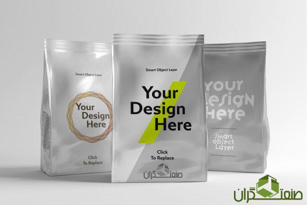 نمونه بسته بندی مواد غذایی که حس اطمینان بهداشت میدهد
