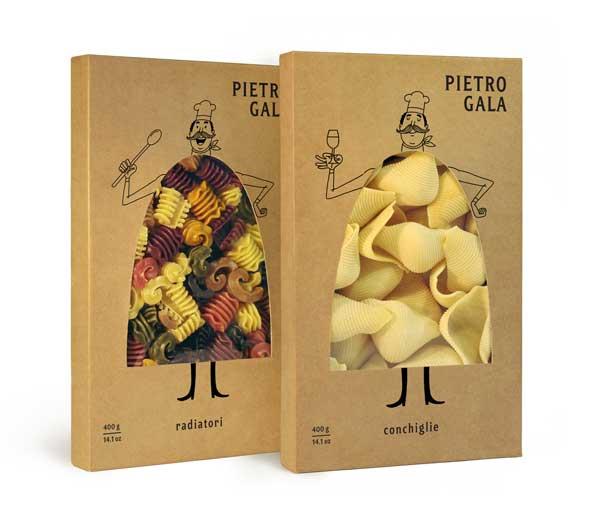 بسته بندی خلاقانه اسپاگتی