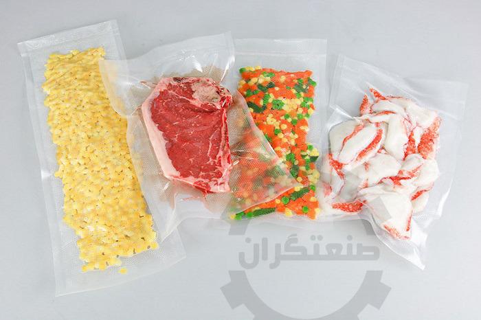 نمونه وکیوم مواد غذایی با وکیوم خانگی
