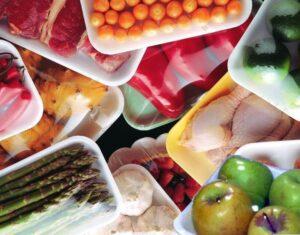 سلفون کشی موادغذایی در ظروف یک بار مصرف
