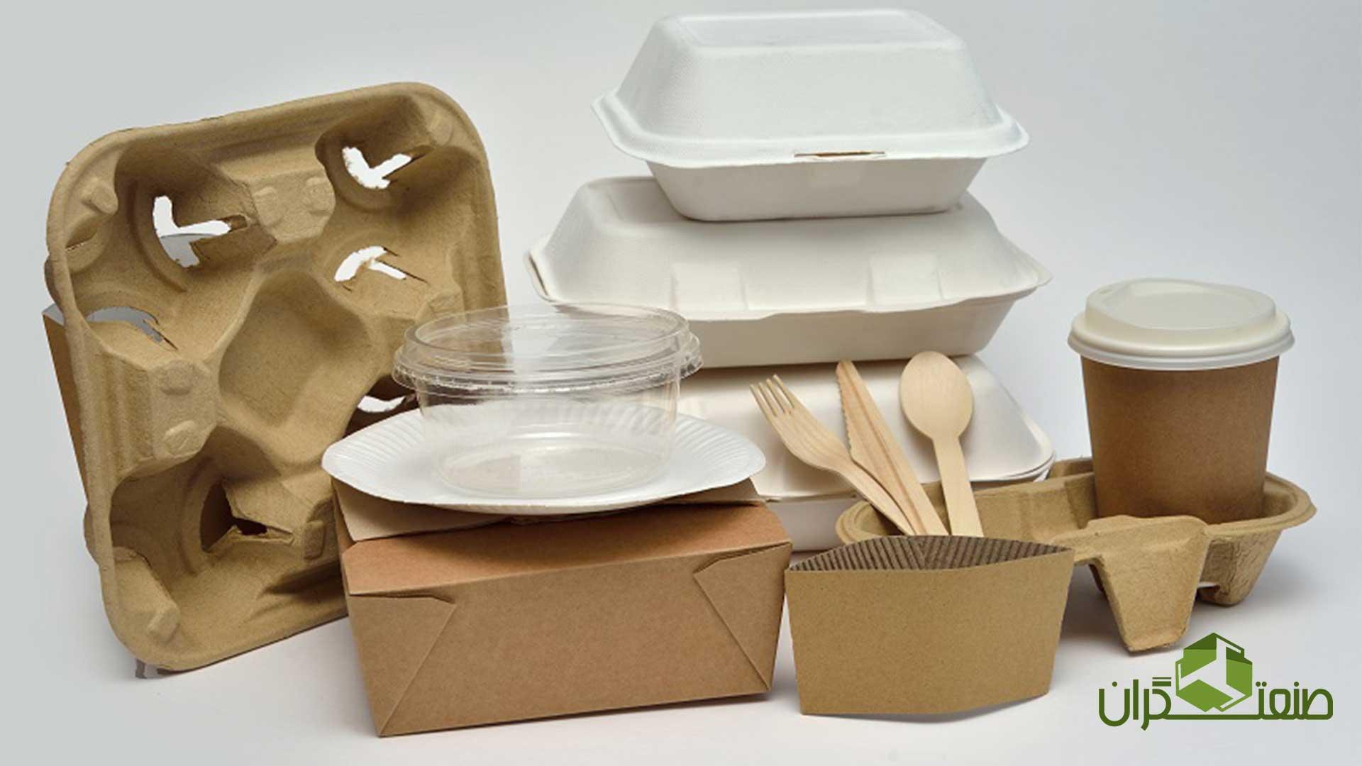 انواع بسته بندی مواد غذایی